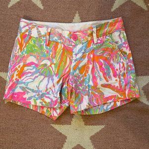 Lilly Pulitzer Callahan Shorts - Size 2